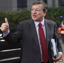 EU Commission President Jose Manuel Barroso in Brussels, 22 November