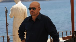A scene from Inspector Montalbano