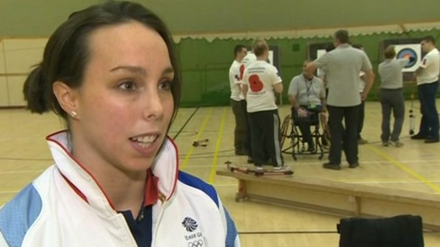 Gymnast Beth Tweddle