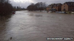 River Avon at Evesham