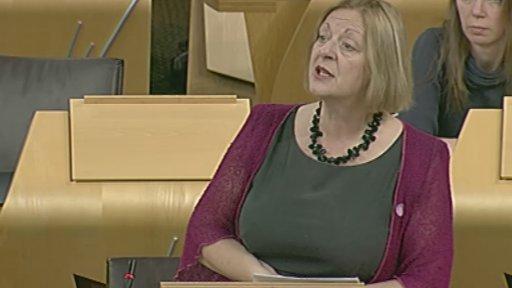 SNP MSP Linda Fabiani