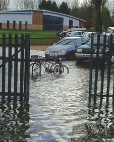Billing Aquadrome  car park
