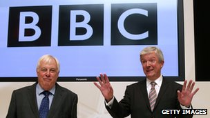 Lord Hall at BBC news conference
