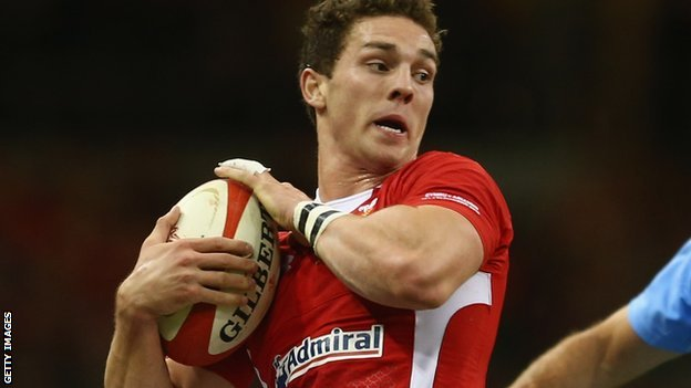 Wales wing George North