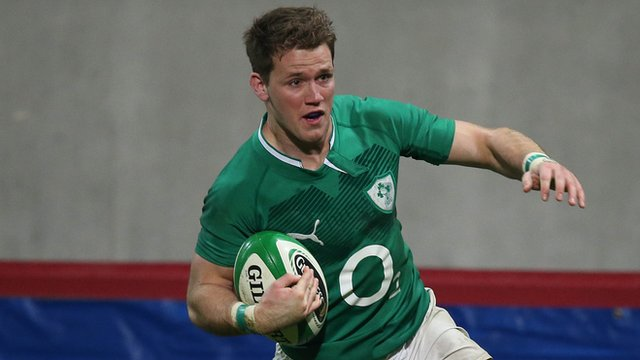 Ireland winger Craig Gilroy