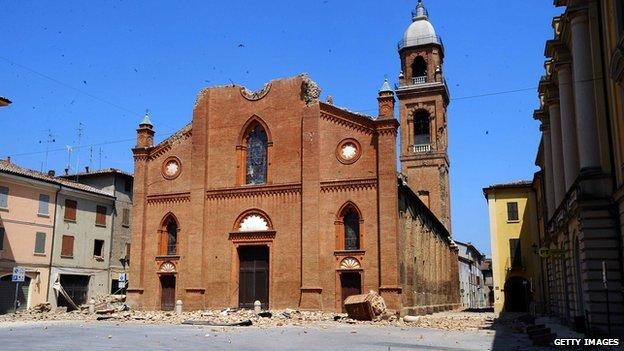 Mirandola cathedral