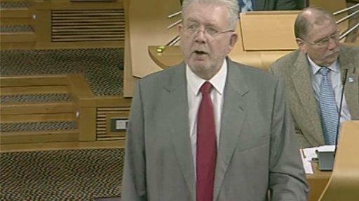 Education Secretary Michael Russell