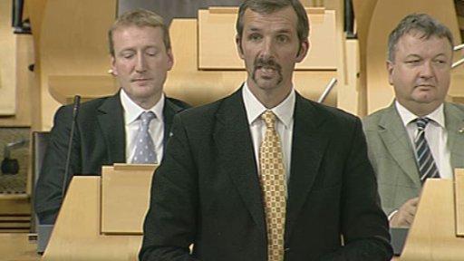 Liberal Democract MSP Liam McArthur