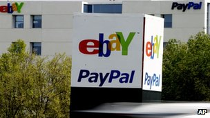 eBay is PayPal's parent company