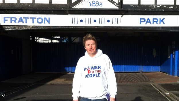 Micah Hall at Fratton Park