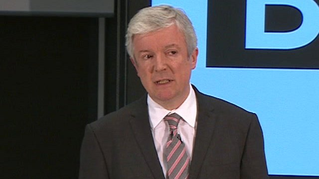 The BBC&#039;s new director general, Tony Hall