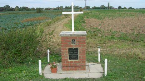 Memorial in Bicker