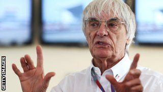 Bernie Ecclestone