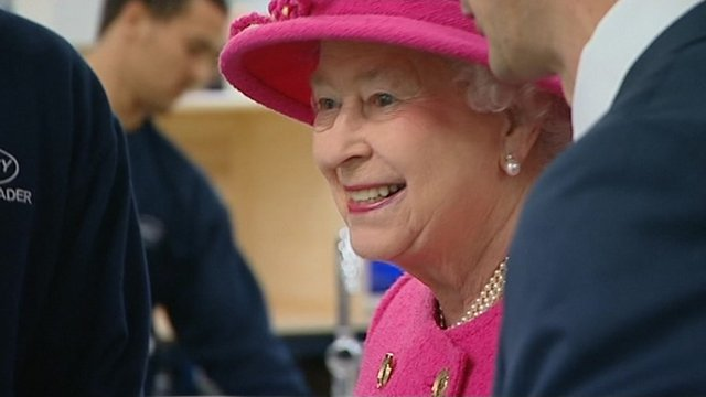 The Queen and the Duke of Edinburgh visit Bristol