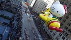 The Macy's Thanksgiving Day Parade in New York on 22 November 2012