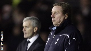 Harry Redknapp (right) and Mark Hughes (left)