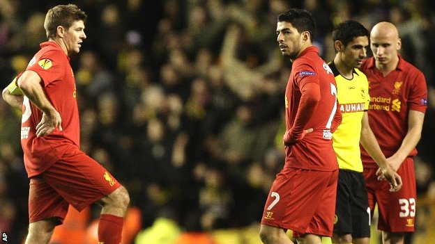 Steven Gerrard and Luis Suarez