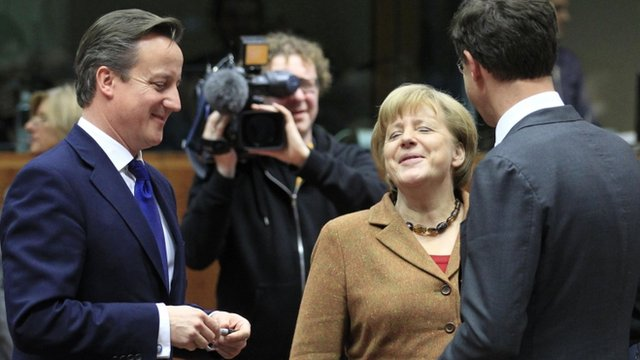 David Cameron, Angela Merkel