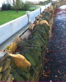 Private flood defences on Waterside, Evesham