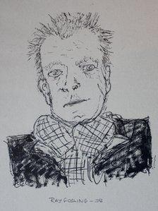 Ray Gosling portrait