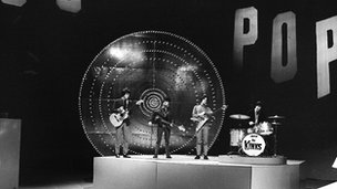 The Kinks on TOTP in 1965