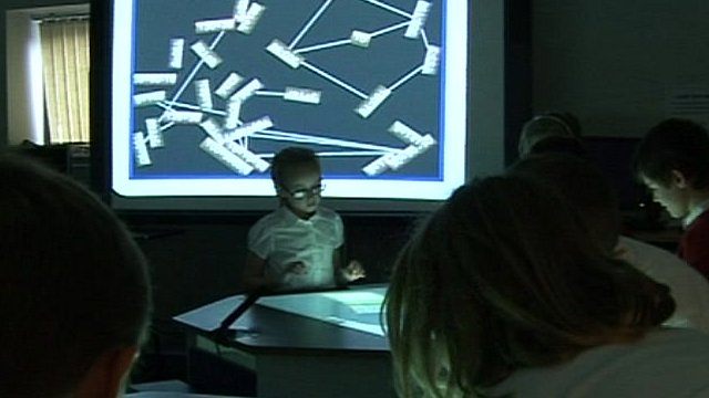 interactive desk