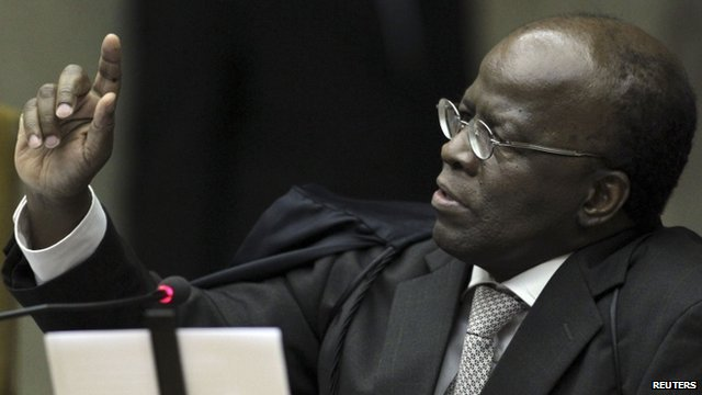 Judge Joaquim Barbosa