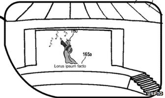 Microsoft patent drawing