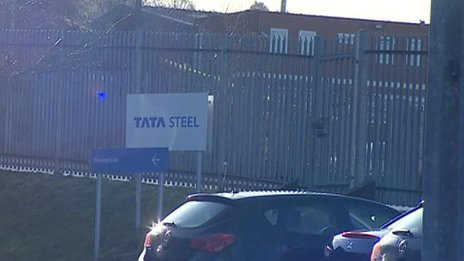 Tata distribution hub in Cradley