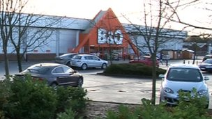 B&Q at Bletchley