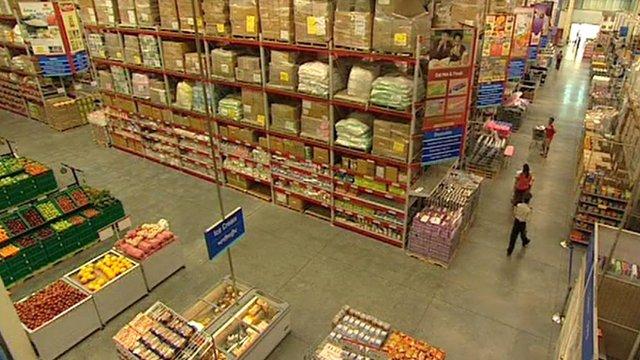 A Bharti Wal-Mart store