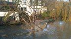Flooding at Batheaston