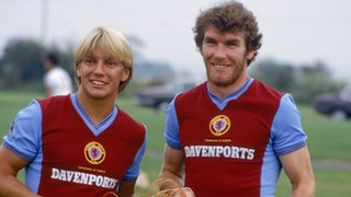 Gary Shaw and Peter Withe