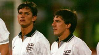 Gary Lineker and Peter Beardsley