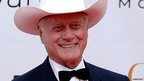 Actor Larry Hagman (file image from 10 June 2010).