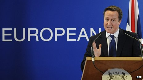 UK Prime Minister David Cameron