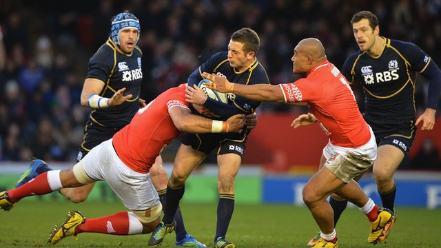 Scotland 15-21 Tonga