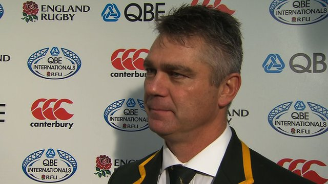 South Africa coach Heyneke Meyer