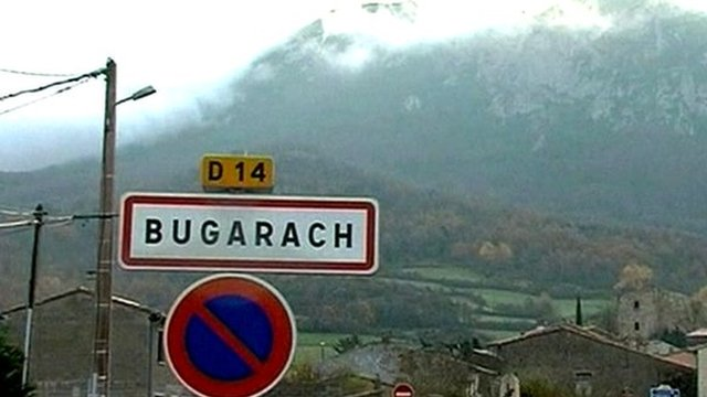 The village of Bugarach in France