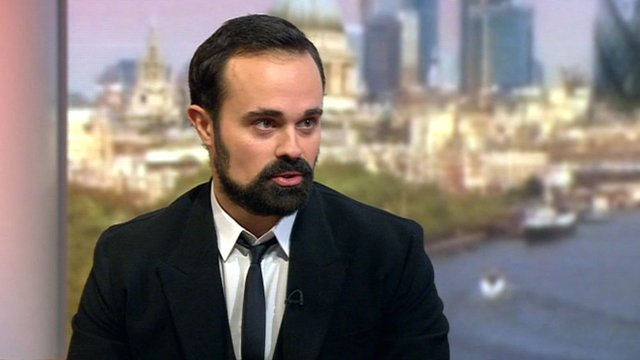 Evegeny Lebedev on the Andrew Marr Show
