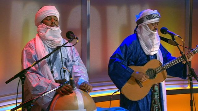 Tinariwen on The Andrew Marr Show