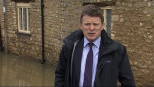 Flooding Minister Richard Benyon