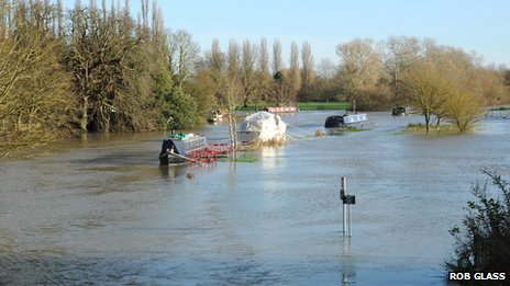 River Thames at Abingdon
