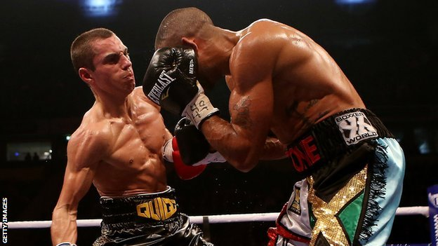 Scott Quigg and Rendall Munroe
