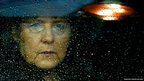 Germany's Chancellor Angela Merkel arrives at the European Union council headquarters in Brussels, Belgium,