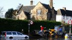 Flooding in Hathern, Leicestershire