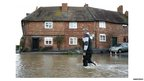 Flooding in Tewkesbury, Glos