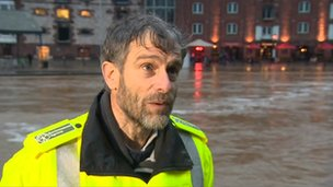 Martin Weiler, of the Environment Agency