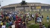 The Namboole national stadium in Kampala