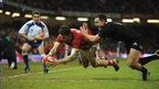 Alex Cuthbert has the final say, scoring Wales' second try, but New Zealand run out comfortable 10-33 winners in Cardiff